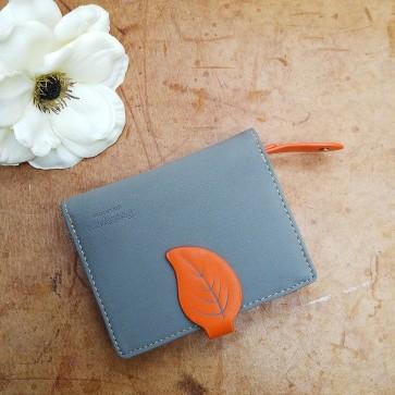 Portemonnaie orange klein