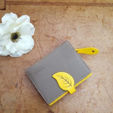 Portemonnaie gelb klein