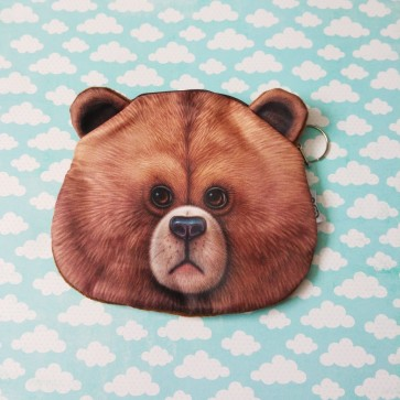 Portemonnaie Geldbörse Bär
