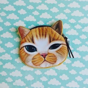 Portemonnaie Geldbörse Katze