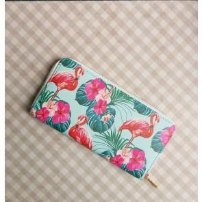 Portemonnaie Flamingos